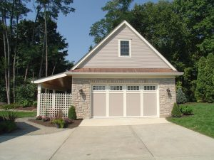 Detached garage built for Spadaccini family