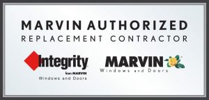 Marvin windows and doors authorized service contractor badge